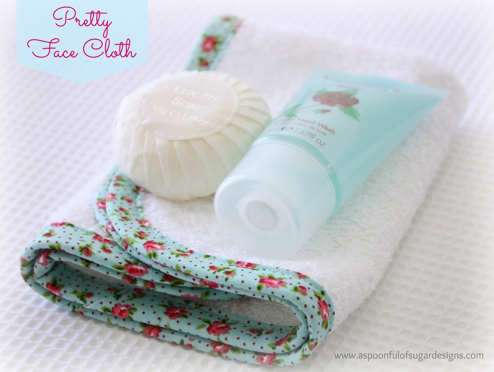 Pretty Face Cloth - A Spoonful of Sugar