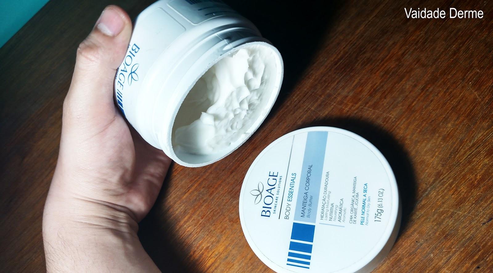 Bioage Body Essentials Manteiga Corporal