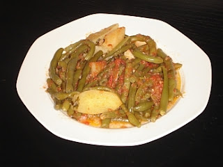 Fresh Green Beans (Fasolakia) Recipe