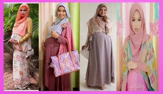 Model baju hamil muslim modis