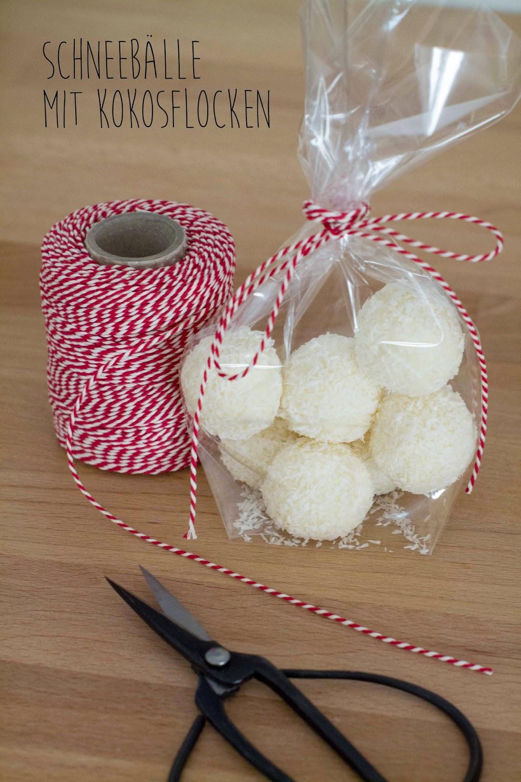 Kuchen & Quiche: Geschenke aus der Küche - Schneebälle mit Kokosflocken