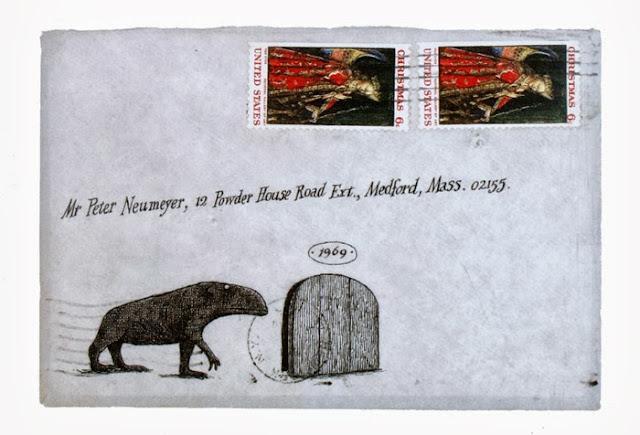 Edward Gorey letter