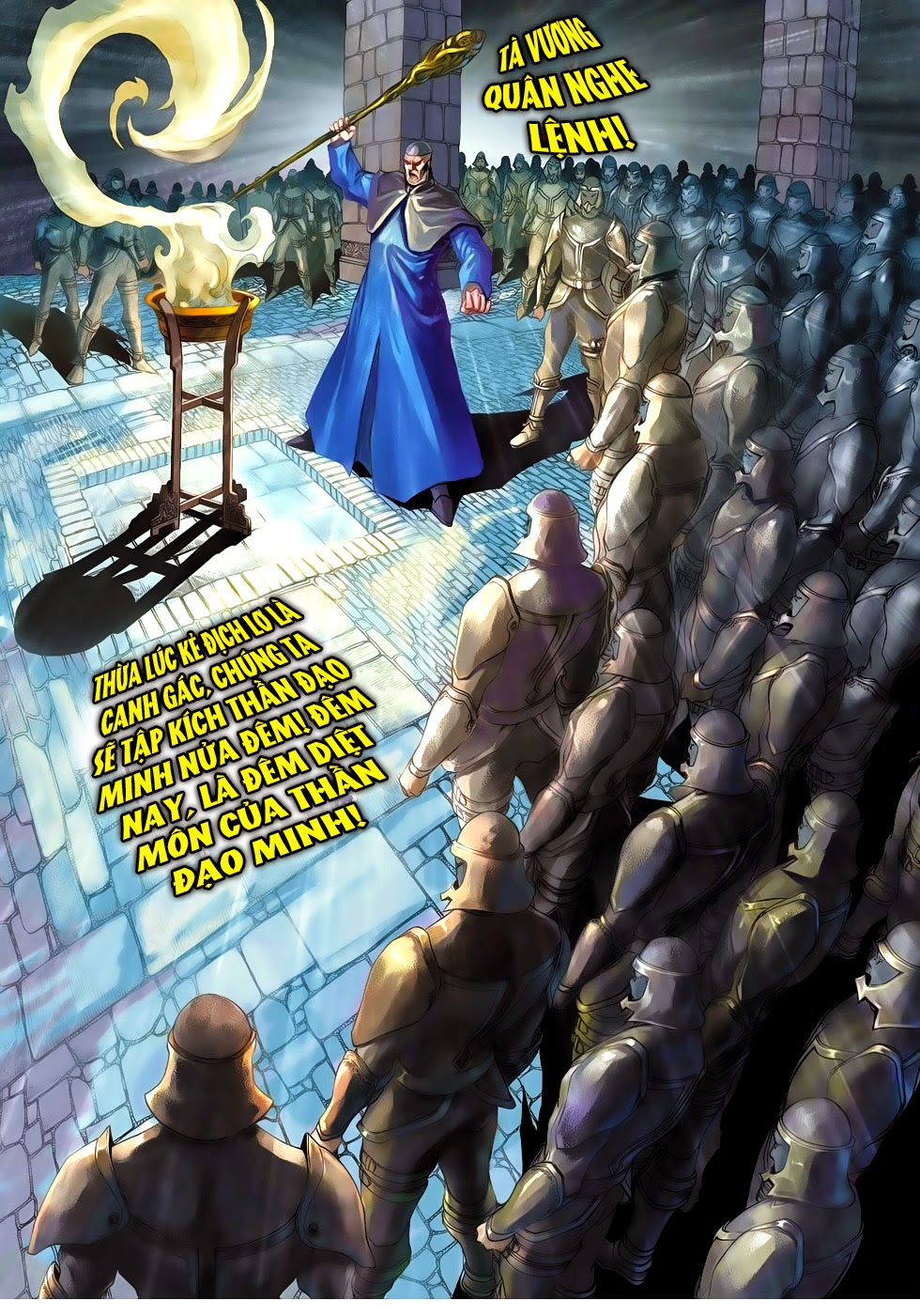 Thần Binh Tiền Truyện 4 - Huyền Thiên Tà Đế chap 10 - Trang 8