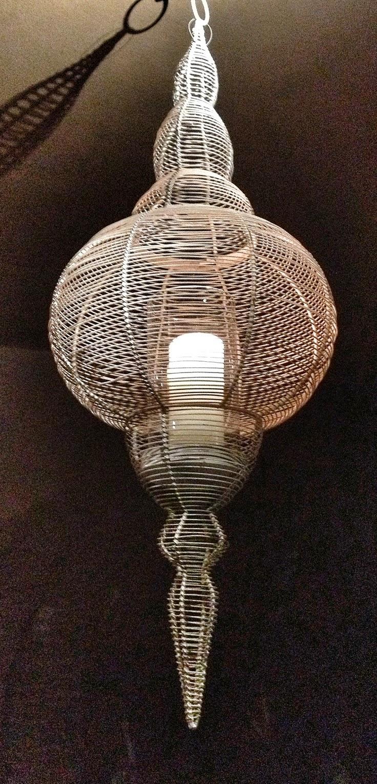 Bricolage Week Of Wire Pendant Lighting