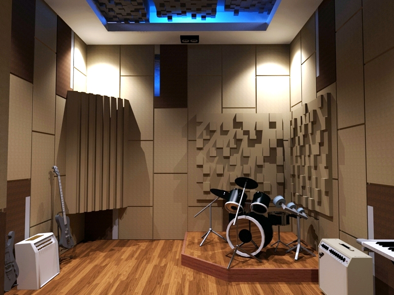 Gemilang Soundproof: DESIGN STUDIO MUSIK BY GEMILANGSOUND