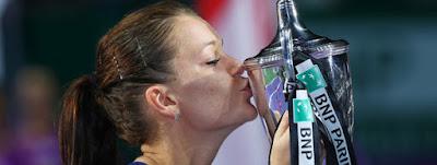 TENIS - WTA Finals 2015: Radwanska adquiere el título de Maestra de la WTA