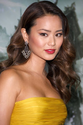 Jamie Chung Gemstone Dangle Earrings