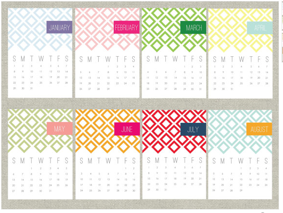 Diy Calendar Planner Template : K i s keep it simple sister calendar inspiration
