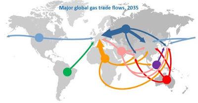シェールガス LNG 2035年