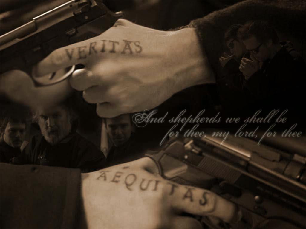 Boondock saints tattoos for Veritas aequitas tattoos
