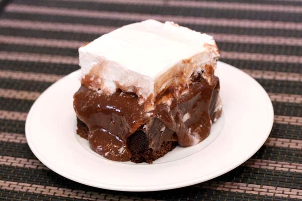 Cake With Chocolate Pudding Mix : Chocolate Pudding Cake Recipe In The Kitchen With Honeyville