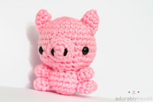 Mini Pig Amigurumi Pattern Adorably Kawaii