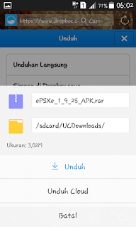 Tips Mendownload File Pada Dropbox Versi Mobile