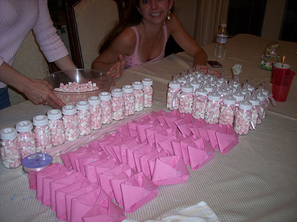 Crazy Ideas: Cute baby shower center pieces
