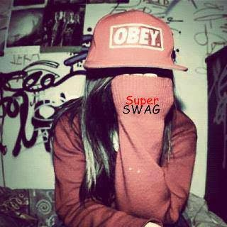 fille swagg style obey