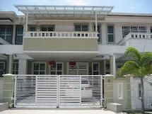 Double Storey Terrace House Design