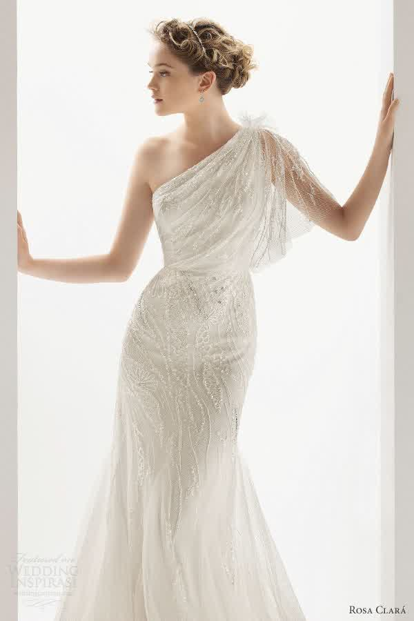 Simple goddess grecian wedding gowns 2015 bridal gowns one shoulder simple grecian wedding dresses junglespirit Image collections