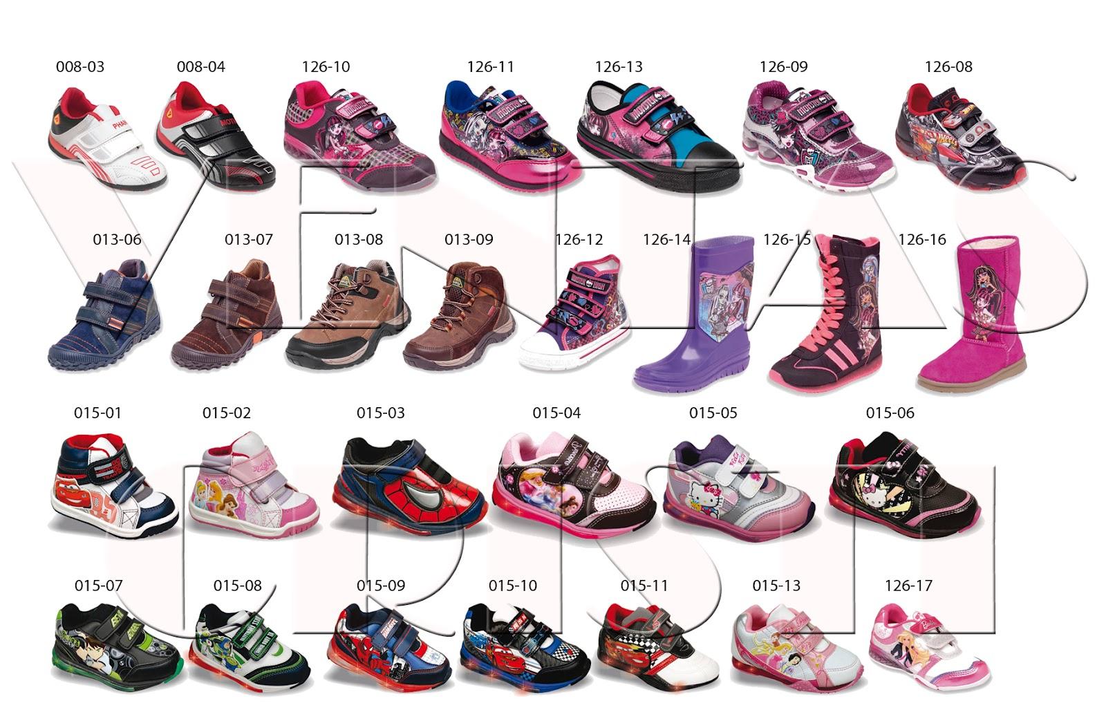 Venta de calzado de marca a mayoreo calzado infantil 2012 for Zapateria infantil