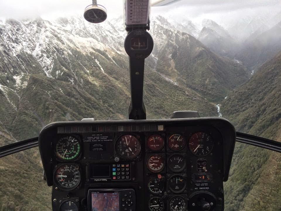 Franz Joseph Glacier - My first heli ride :)
