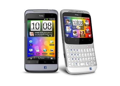 HTC ChaCha y HTC Salsa