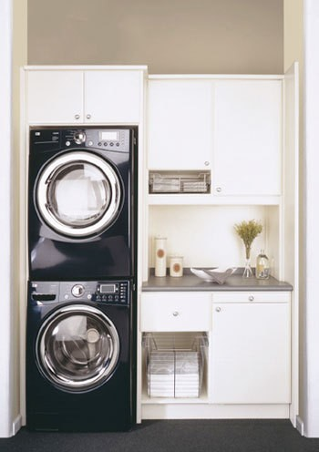 Jodie carter design laundry rooms - Laundry room for small spaces ...