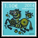 Estonia:Chinese New Year – Year of the Horse - © AS Eesti Post