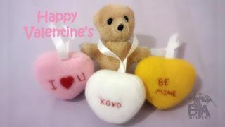 Valentine's Heart Candy Plush Bubs B4Astudios