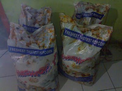 Harga Jagung Pop Corn Naik Stok di Toko Kosong