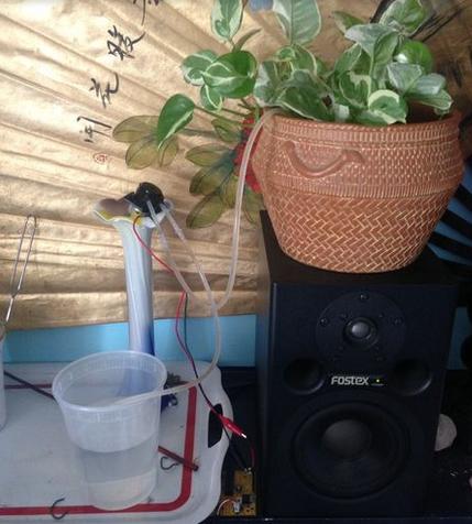 alat penyiram tanaman otomatis
