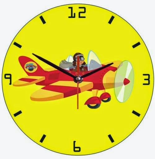 Jual jam dinding unik gambar karakter  59b05bf0e9