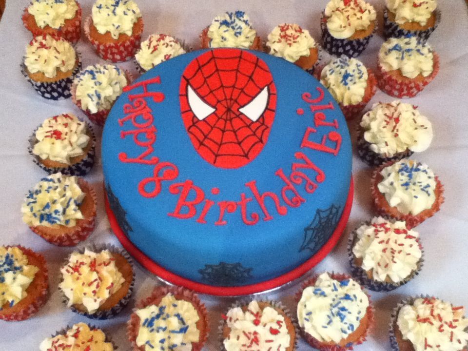 Year Old Boy Birthday Cake Images In Conjunction Margaret Blog SpiderMan