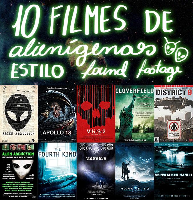 Discípulos de Peter Pan - DDPP - 10 filmes de alienígenas estilo found footage