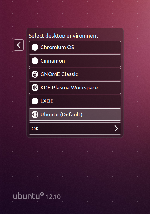 how to make a desktop environment for ubuntu