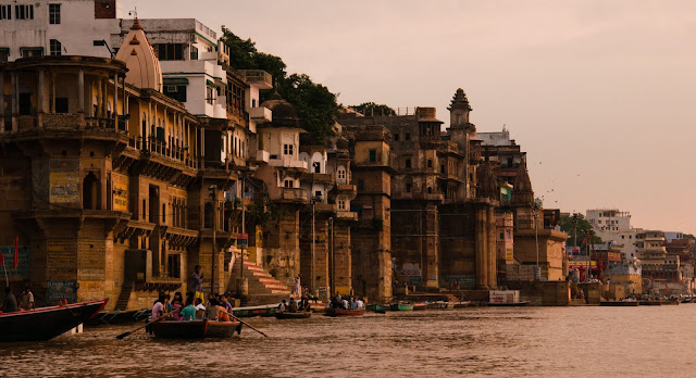Kashi - Varansi from Ganges