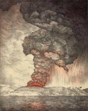 Letusan Gunung Api Terdahsyat di Indonesia