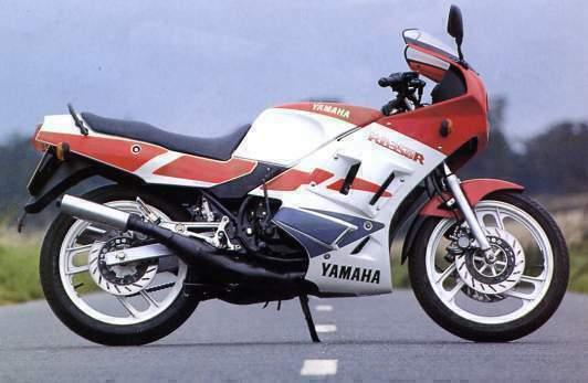 Uma Paix  o Motos  Yamaha RD 350
