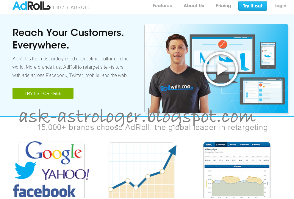 Adroll Ad Network CPM rates and Review