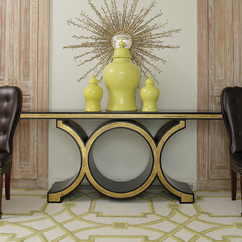 Global Views Link Console: CUSTOM COMFORT: Got Console Tables? We Do