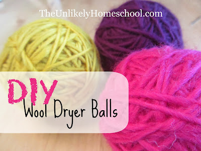 Pinterest Flips & Flops:  DIY Wool Dryer Balls {The Unlikely Homeschool}