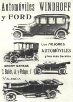 1913 AUTOMÓVILES WINDHOFF