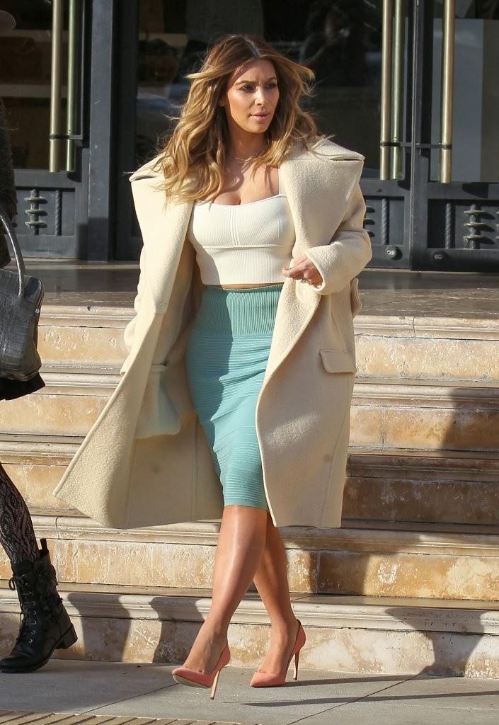 troy tashaz blog kim kardashian winter inspired coat styles