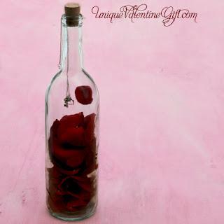 Mensaje en una botella para San Valentín por Recicla Inventa