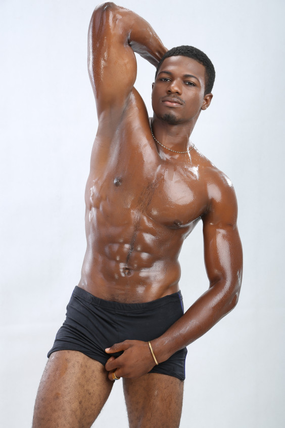 Very valuable Black african american men nude and have