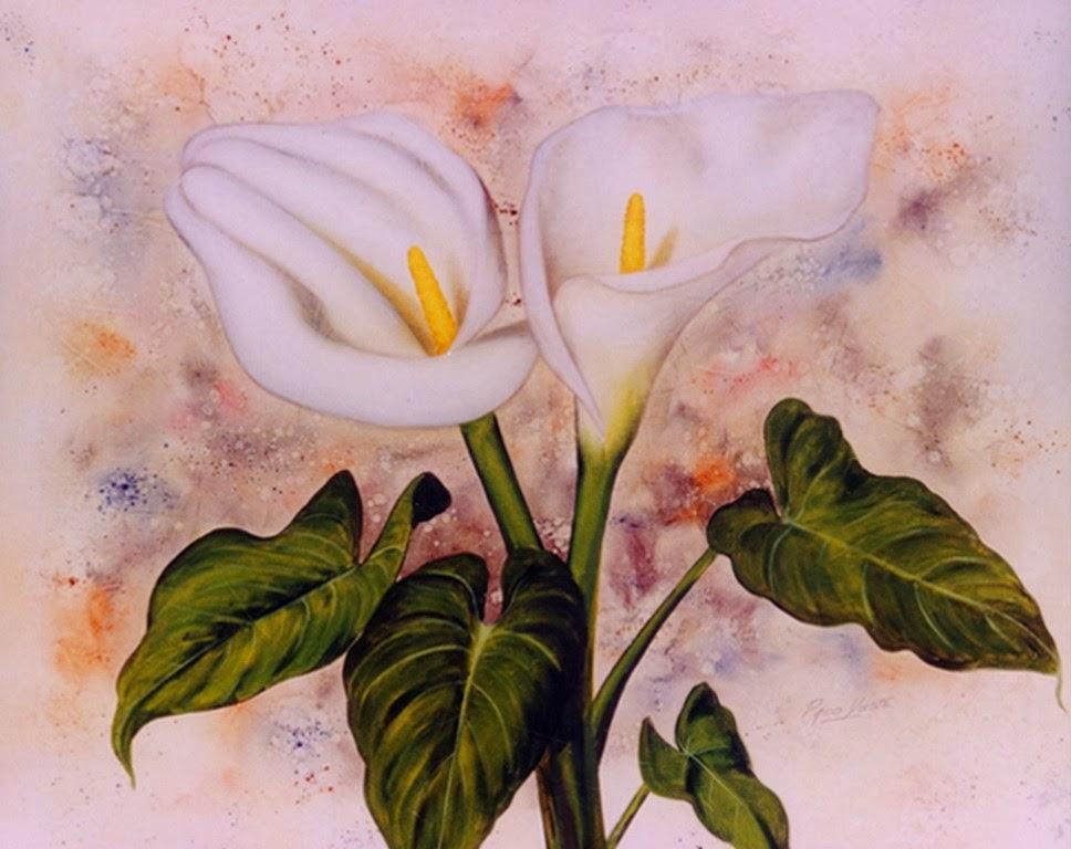 Cuadros modernos cuadros de flores pinturas comerciales - Cuadros de pintura ...