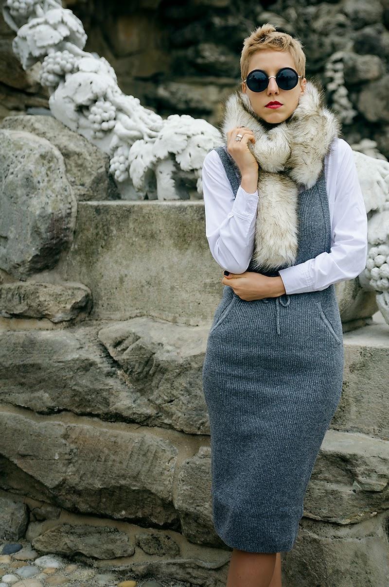knitted dress h&m trend beeswonderland
