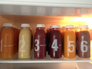 ThatRedheadSaid : Juice Cleanse Day One