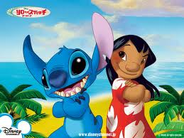 Lilo and Stitch Cute Cartoon