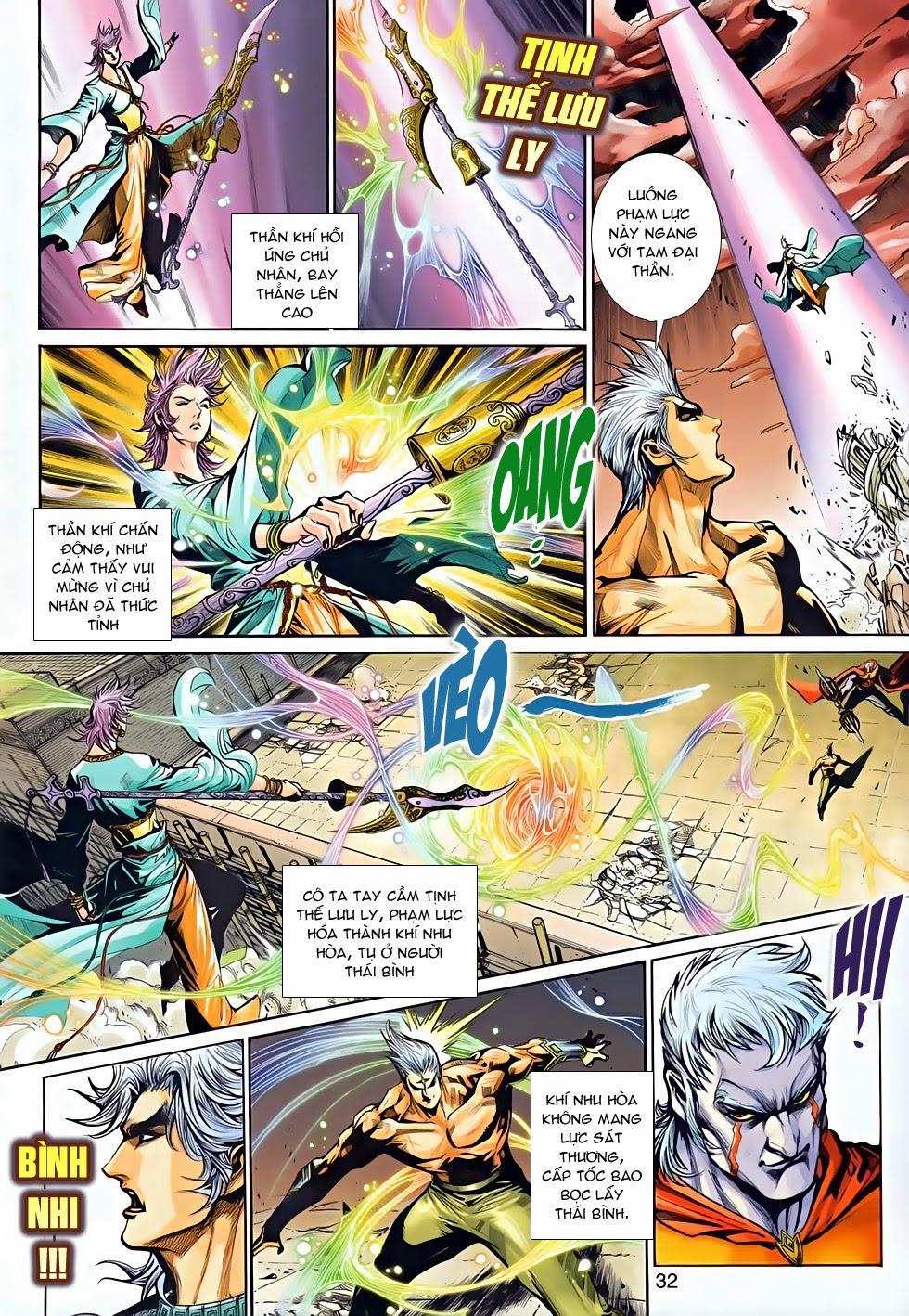 Thần Binh Tiền Truyện 2 chap 21 Trang 31 - Mangak.info