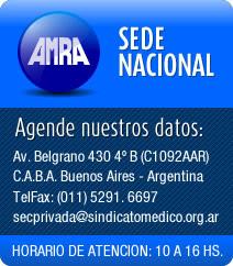 Sede AMRA Nacional