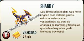 imagen de la decripcion del monstruo  shanky